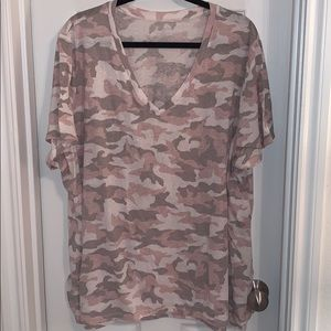 Lane bryant camo shirt